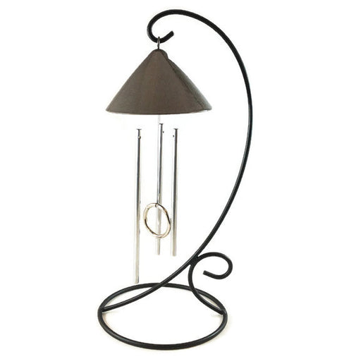 Solar Chime - Table Top Metallic Sprite - AB - Grey/Silver