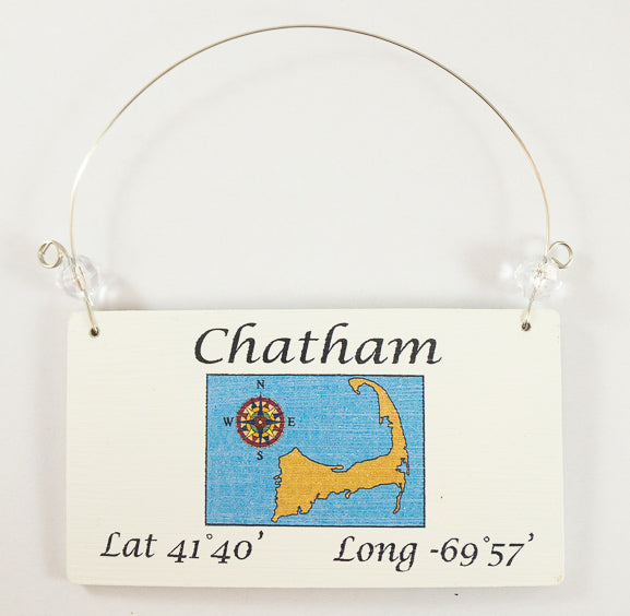 Longitude Ornament - Chatham