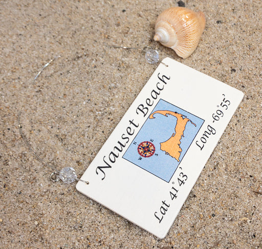 Longitude Ornament - Nauset Beach