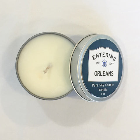 Candle - Soy - 6 oz Tin - Entering Orleans - Vanilla