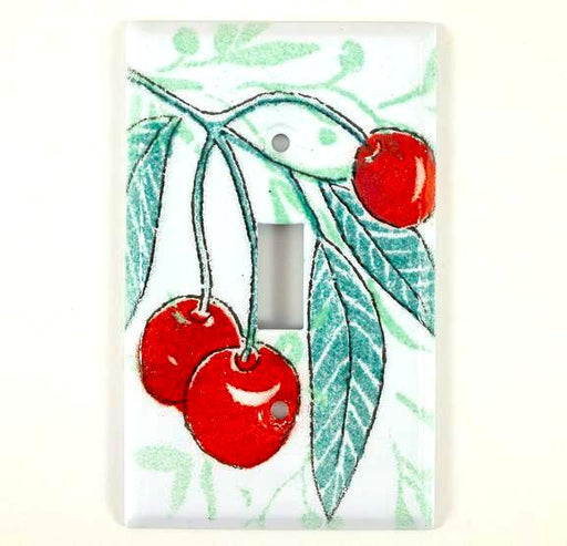 Switch Plate Cover - Single - Cherry