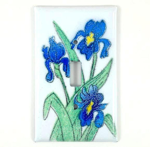 Switch Plate Cover - Single - Iris Blue