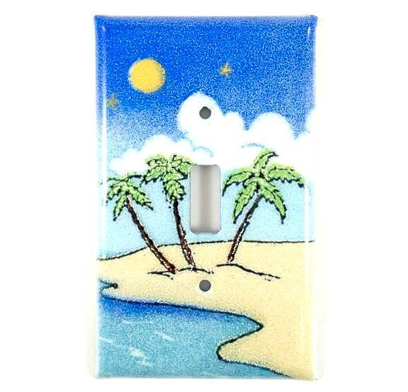 Switch Plate Cover - Single - Island