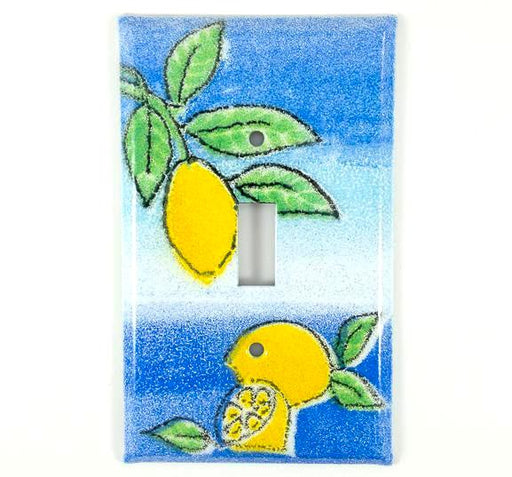Switch Plate Cover - Single - Lemon