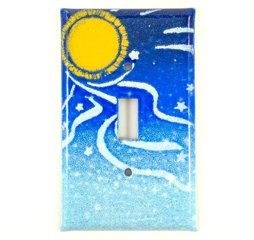 Switch Plate Cover - Single - Night Sky