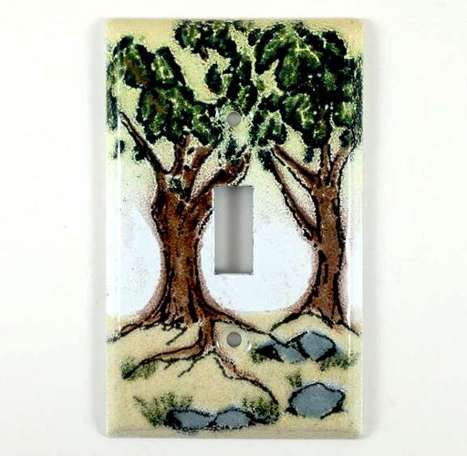 Switch Plate Cover - Single - Oaks