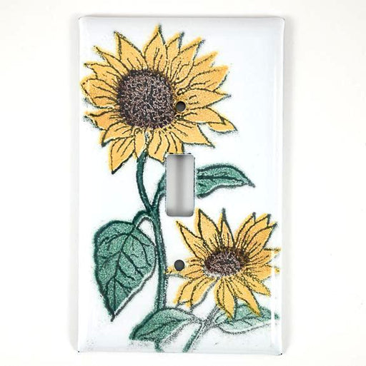 Switch Plate Cover - Single - Sunflower