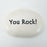 Ceramic Garden Stone - You Rock!