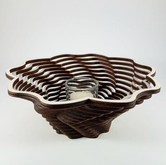 Shadow Basket - Blossom - Large