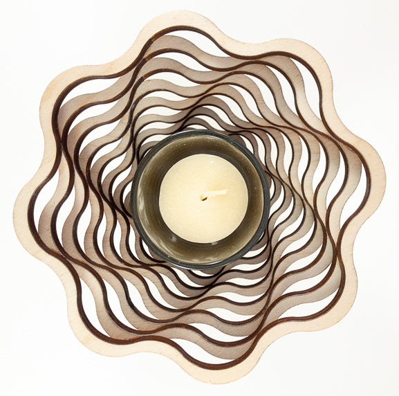 Shadow Basket - Spiral - Small