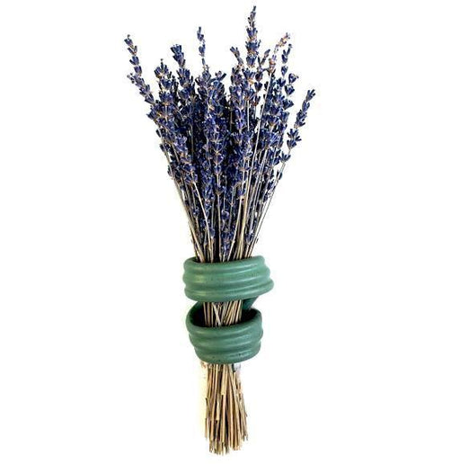 Lavender Holder - Flat Green