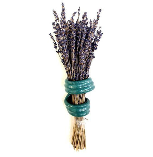 Lavender Holder - Gloss Aqua Green