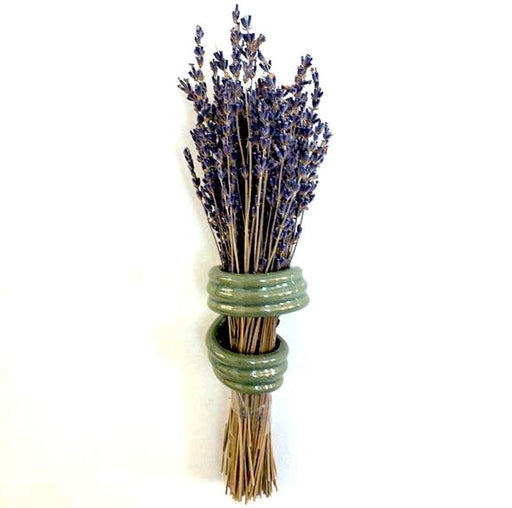 Lavender Holder - Gloss Green
