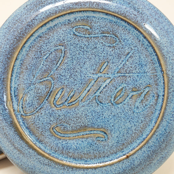 French Butter Dish - Blue Moon - Butter