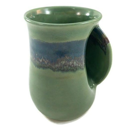 Hand Warmer Mug - Right - Misty Green