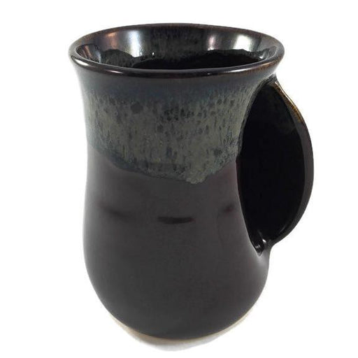 Hand Warmer Mug - Right - Mocha