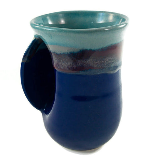 Hand Warmer Mug - Left - Mystic Water