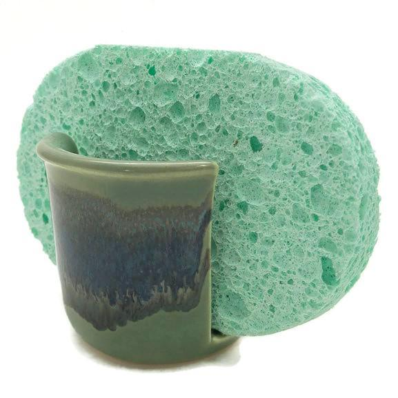 Sponge Holder - Misty Green