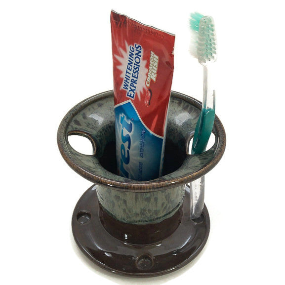 Tooth Brush Holder - Mocha