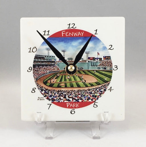 Clock - Desk - Fenway Park - Black Hand