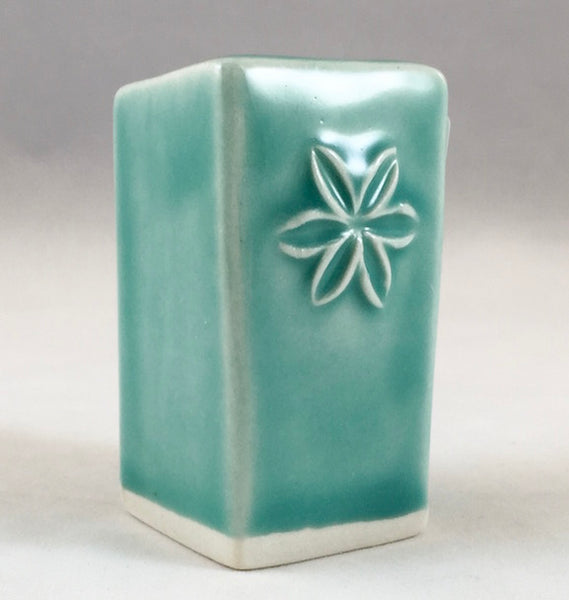 Bud Vase - Medium - Sea Green - Flower