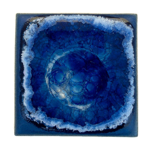 Coasters with Glass - Blue