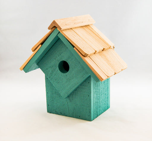 Bird House - Summer Home - Turquoise