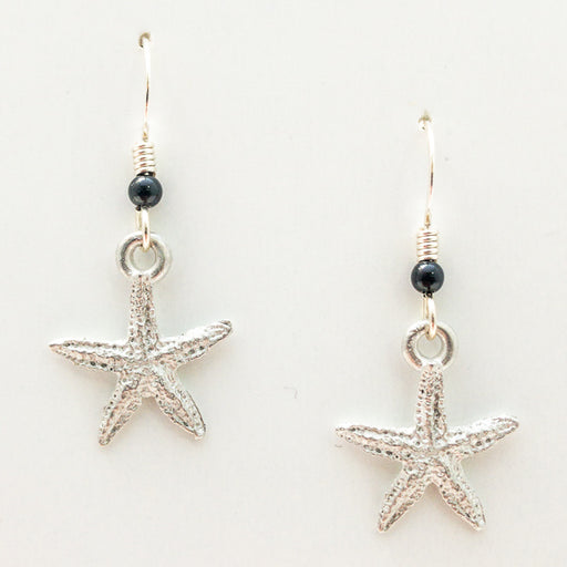 Earrings - Micro Starfish Wires