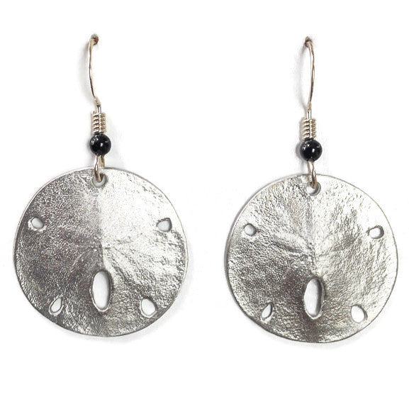 Earrings - Sand Dollar wires