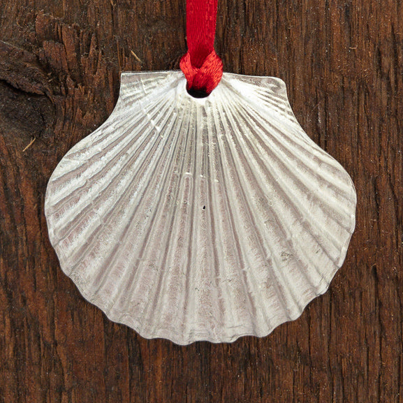 Ornament - Medium Scallop Shell