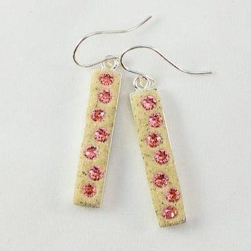 Earrings - Dangle - Rose Peach - Skaket