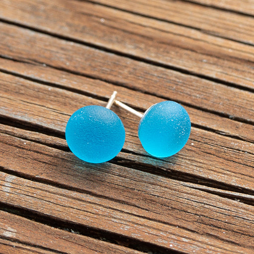 Earrings - Single Sea Glass - EDP01 - Caribbean