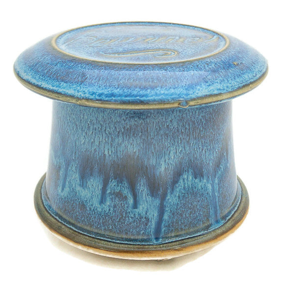French Butter Dish - Blue Moon - Beurre