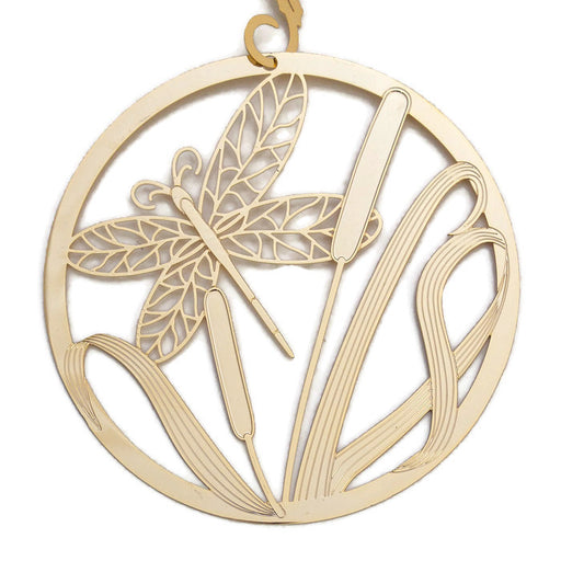 Ornament - Gold Plated Dragonfly