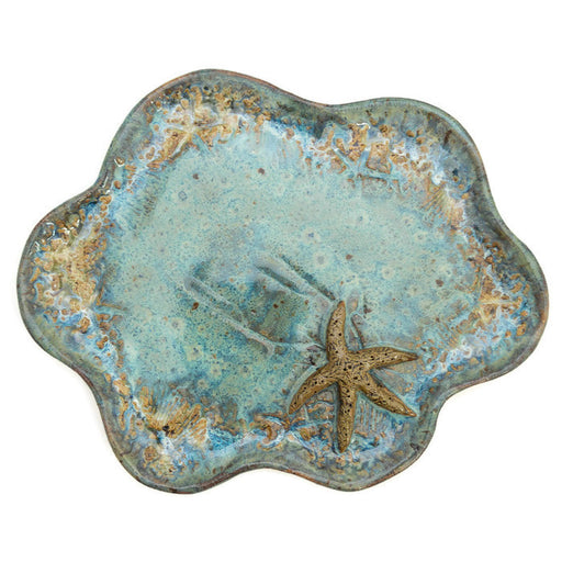 Clam Shell Dish - Blue Mist - Starfish