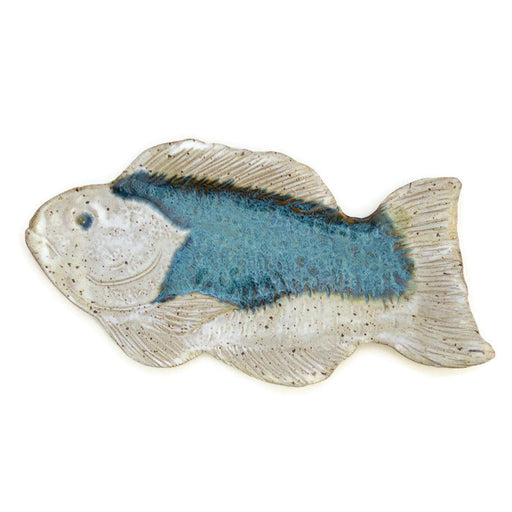 Fish Plate - Ocean Blue - Medium