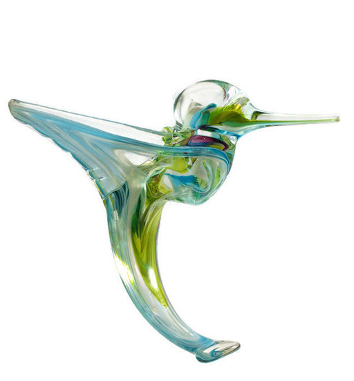 Glass Hummingbird - Jewel Tones