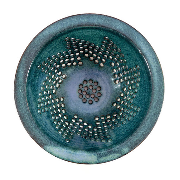 Berry Bowl - Pinwheel Pattern - Lush Green