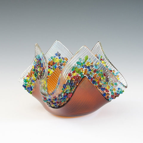 Glass Votive - Amber