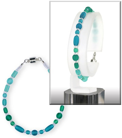 Bracelet - Cipher - Gradient Deep Sea Greens - BCH-6574