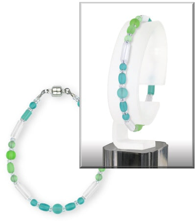 Bracelet - Cipher - Gradient Pale Green to Seafoam - BCH-7003