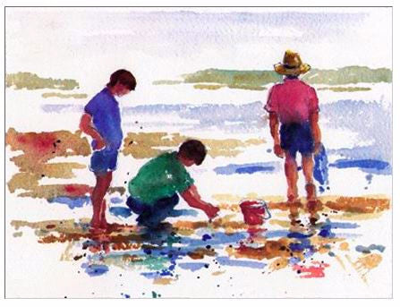 Gift Enclosure Card - Beachcombers - 1