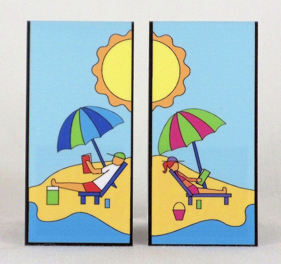 Magnetic Bookmark - Beach Read - MBK01