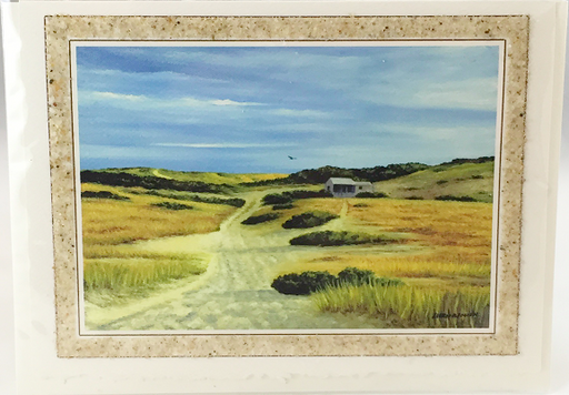 Notecard - Beach Sand - Art - Province Lands