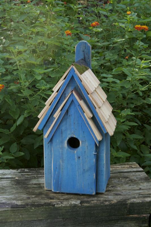 Bird House - Blue Bird Manor - Blue