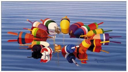 Gift Enclosure Card - Buoys III - 110