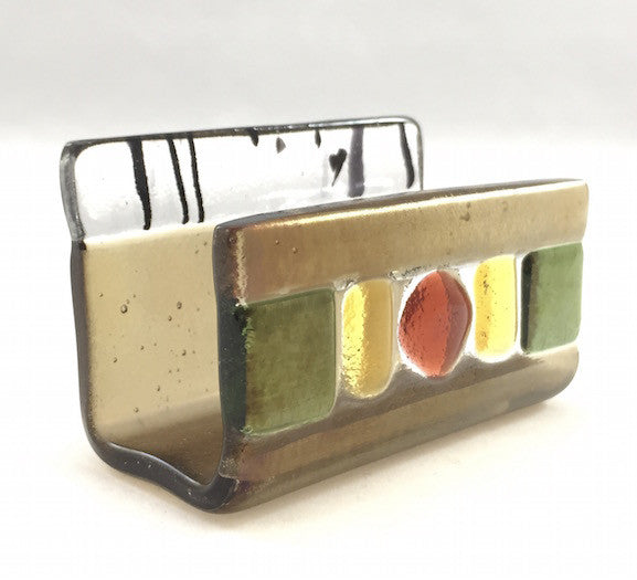 Business Card Holder - Woodlands