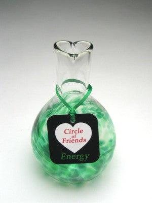 Circle of Friends Vase - Green - Energy