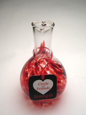 Circle of Friends Vase - Red - Strength