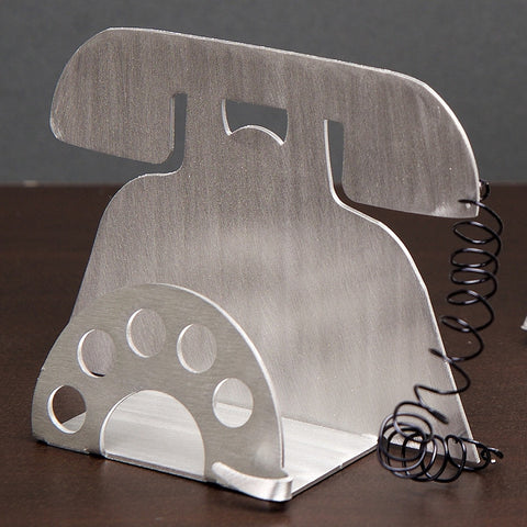 "Business Card Holder - Telephone - ""Call Me"""